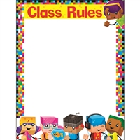 Class Rules Blockstars Learning Chart, T-38373