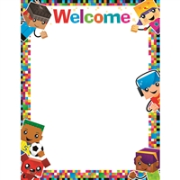 Welcome Blockstars Learning Chart, T-38379
