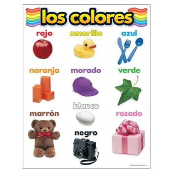 Chart Los Colores By Trend Enterprises