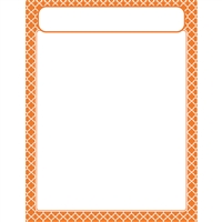 Moroccan Orange Learning Chart, T-38605