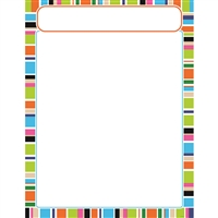 Stripe-Tacular Party Time Learning Chart, T-38632