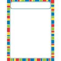 Stripe-Tacular Cheerful Learning Chart, T-38633