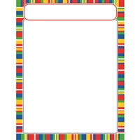 Stripe-Tacular Candy Learning Chart, T-38634