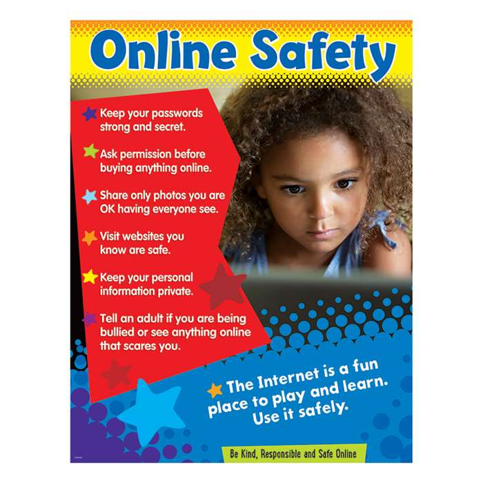Online Safety Learning Chart Primary, T-38645
