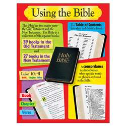 Using The Bible Learning Chart By Trend Enterprises