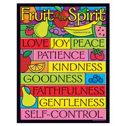 Learning Chart Fruit Of The Spirit By Trend Enterprises
