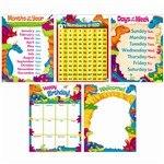 Classroom Basics Dino Mite Pals Learning Charts Co, T-38975