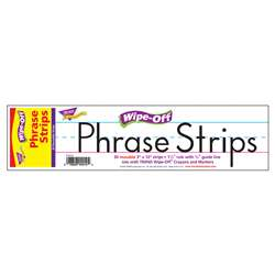 Wipe-Off Sentence Strips White 12 \Inch Phrase Strips By Trend Enterprises