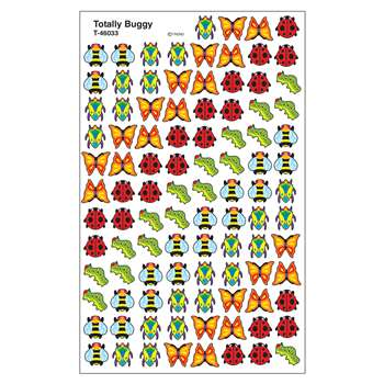 Supershapes Stickers Totally Buggy By Trend Enterprises