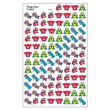 Sticker Frog Fun Supershapes By Trend Enterprises