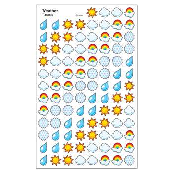 Supershapes Stickers Weather By Trend Enterprises