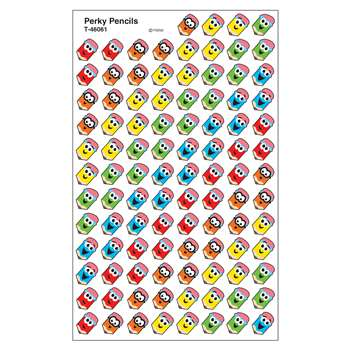 Supershapes Stickers Perky Pencils By Trend Enterprises