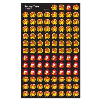 Supershapes Stickers Turkey Time By Trend Enterprises