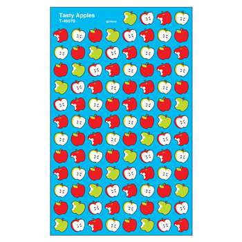 Supershapes Stickers Tasty Apples By Trend Enterprises