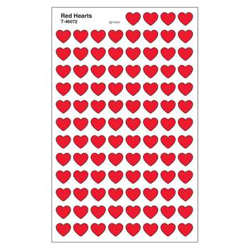 Supershapes Stickers Red Hearts By Trend Enterprises