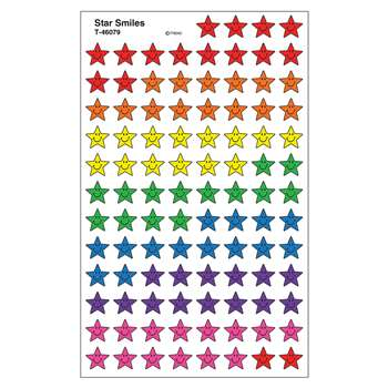 Star Smiles Supershape Superspots Shapes Stickers By Trend Enterprises