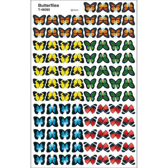 Stickers Bold Butterflies By Trend Enterprises