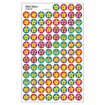 Superspots Stickers Silly Stars By Trend Enterprises
