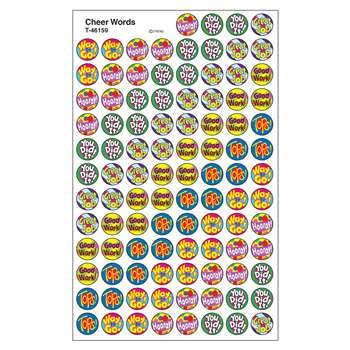 Superspots Stickers Cheer Words By Trend Enterprises