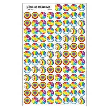 Superspots Stickers Beaming Rainbow By Trend Enterprises