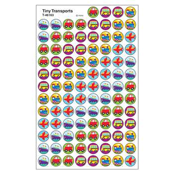 Superspots Stickers Tiny Transport By Trend Enterprises