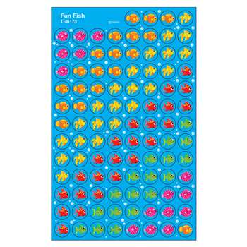 Superspots Stickers Fun Fish By Trend Enterprises