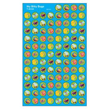Itty Bitty Bugs Superspot Shapes Stickers By Trend Enterprises
