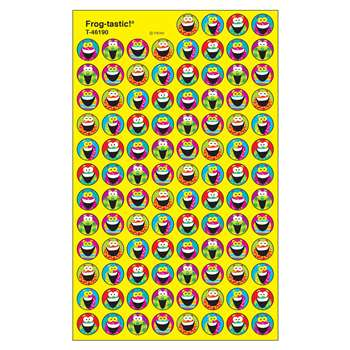 Frog Tastic Superspots Stickers By Trend Enterprises