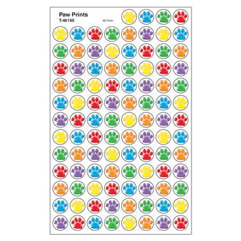 Paw Prints Superspots Stickers By Trend Enterprises
