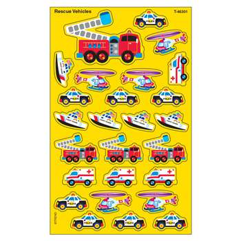 Supershapes Rescue 184-208/Pk Vehicles Larger Size By Trend Enterprises