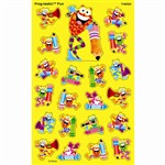 Frog Tastic Fun Supershapes Stickers Large By Trend Enterprises
