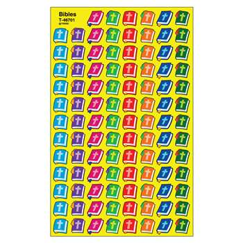 Supershapes Stickers Bibles By Trend Enterprises
