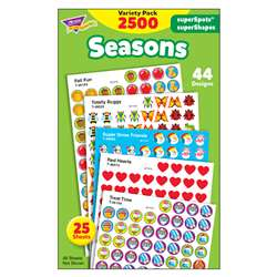 Stickers Seasons Colossal Variety Pk By Trend Enterprises