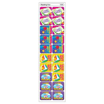 Applause Stickers Reading Fun 100Pk Acid-Free By Trend Enterprises
