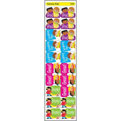 Applause Stickers Cartoon Kids By Trend Enterprises