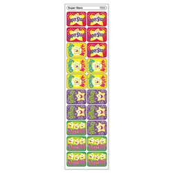 Applause Stickers Super 100/Pk Stars Acid-Free By Trend Enterprises