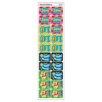 Applause Stickers Reward Ribbons By Trend Enterprises