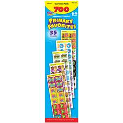 Applause Stickers 700/Pk Primary Favorites Acid-Free Jumbo Variety By Trend Enterprises