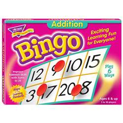 Bingo Addition Ages 6 & Up By Trend Enterprises