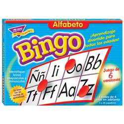 Bingo De Alfabeto Old T088 By Trend Enterprises
