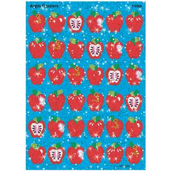 Sparkle Stickers Apple Dazzlers By Trend Enterprises