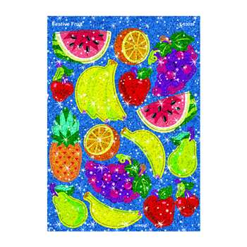 Festive Fruit Sparkle Stickers By Trend Enterprises