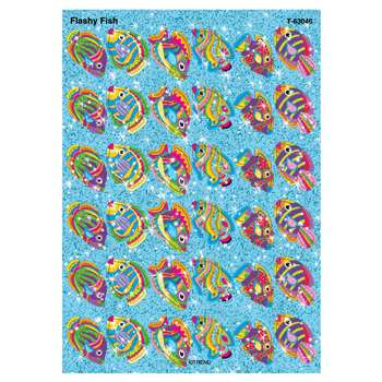 Sparkle Stickers Flashy Fish By Trend Enterprises