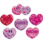 Sparkle Stickers Heart Hoorays By Trend Enterprises