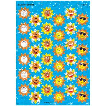 Sparkle Stickers Sunny Smiles By Trend Enterprises