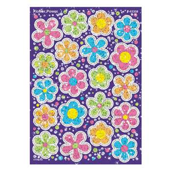 Sparkle Stickers Flower Power By Trend Enterprises