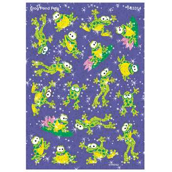 Sparkle Stickers Frog Pond Pals By Trend Enterprises