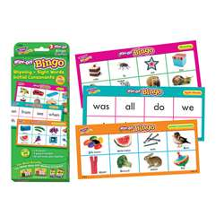 Rhyming Sight Words Initial Consonants Wipe Off Bi, T-6602