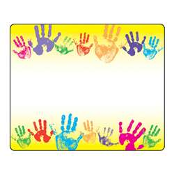 Name Tags Rainbow Handprints 36Pk By Trend Enterprises