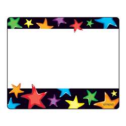 Gel Stars Name Tags By Trend Enterprises